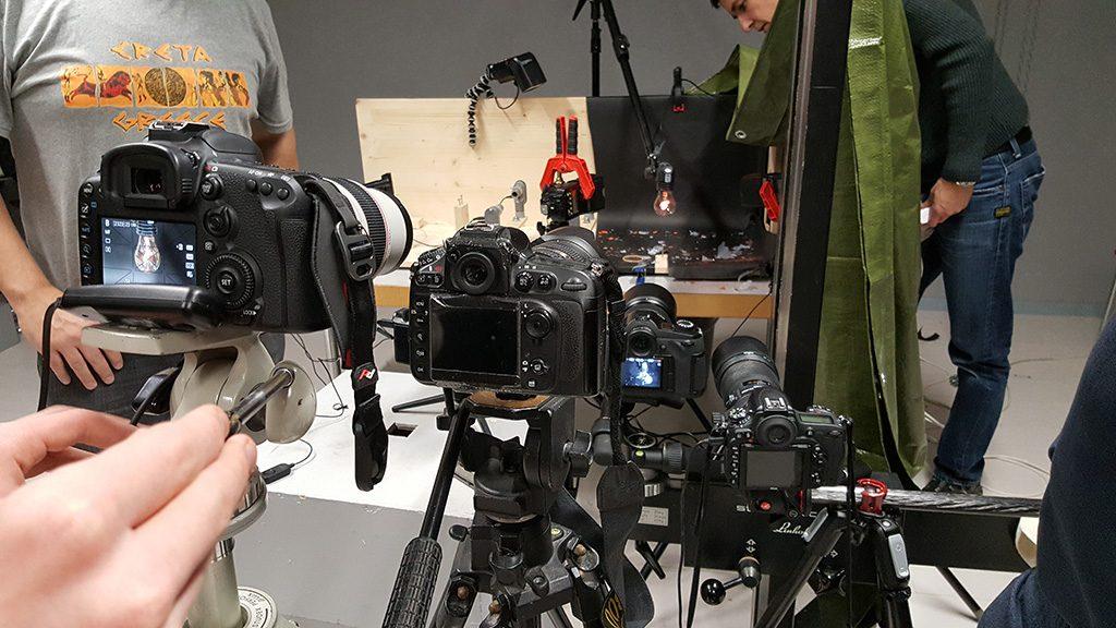 groupe appareil photo