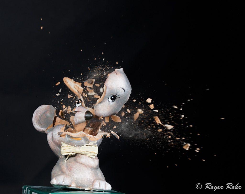 souris explosive